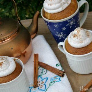 Chai Tea Latte Cupcakes