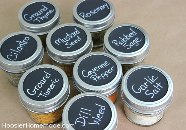 How to make chalkboard labels instructions on hoosierhomemade com