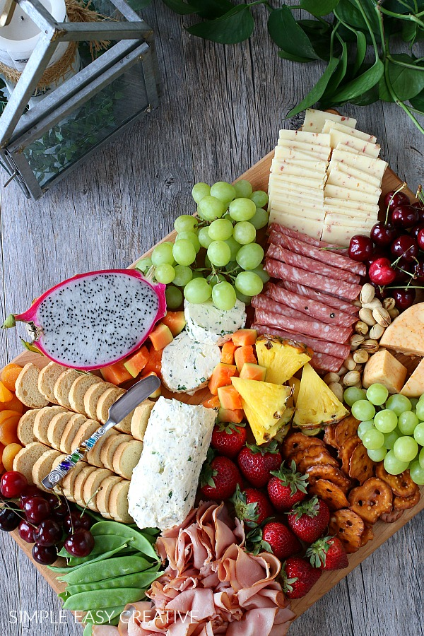 Simple Entertaining with Charcuterie Board
