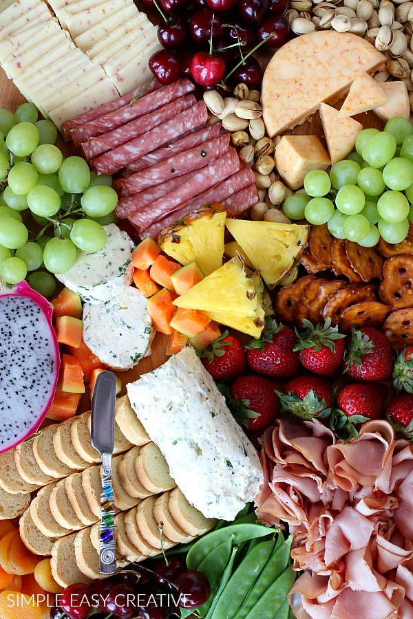 Simple Entertaining with a Charcuterie Board