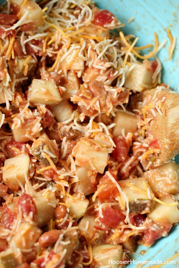 CHEESY MEXICAN POTATOES -- Perfect for game night, parties, birthday celebrations and more!
