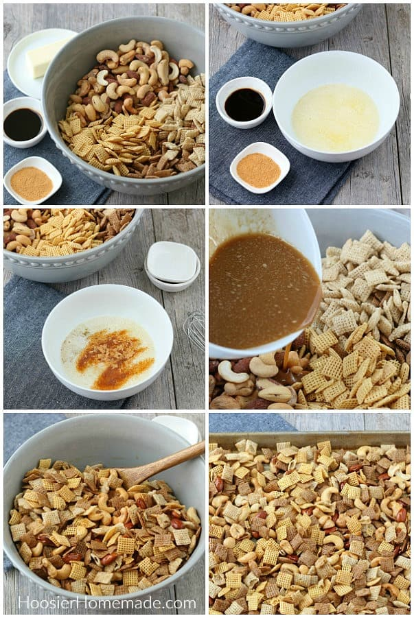 How to make Chex Mix Recipe
