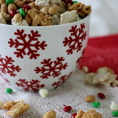 Peanut Butter & Chocolate Chex Party Mix