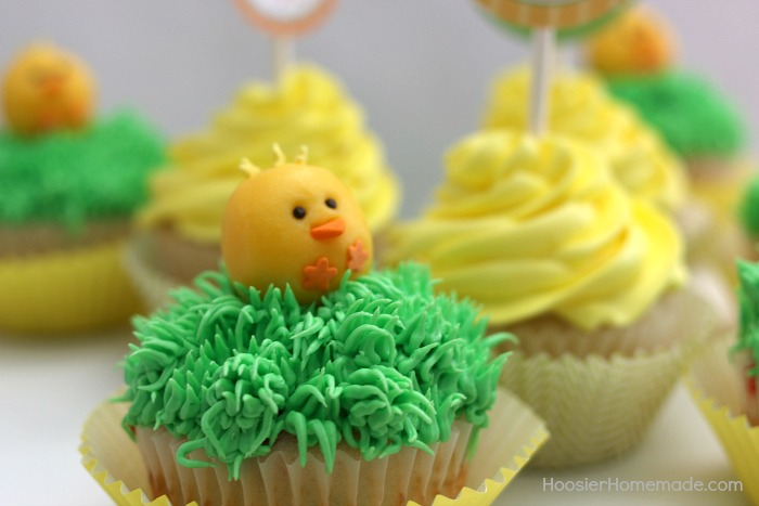 Chicks made with Candy Clay