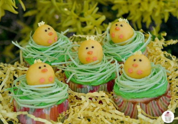 Chick Cupcakes :: HoosierHomemade.com
