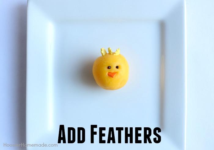 Step 4 to make Chicks