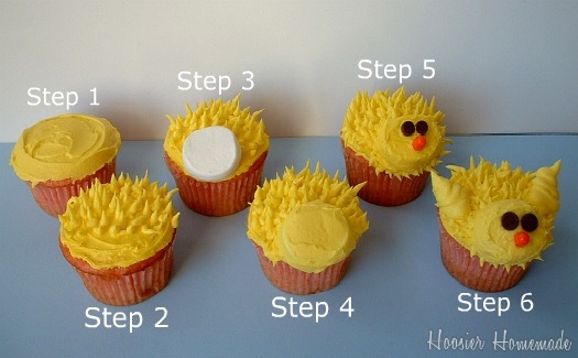 Chick Cupcakes For Easter Cupcake Tuesday Hoosier Homemade