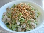 Weekly Menu Plan~Chinese Chicken Salad