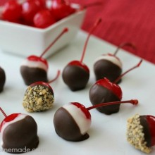 Easy Chocolate Covered Cherries Recipe