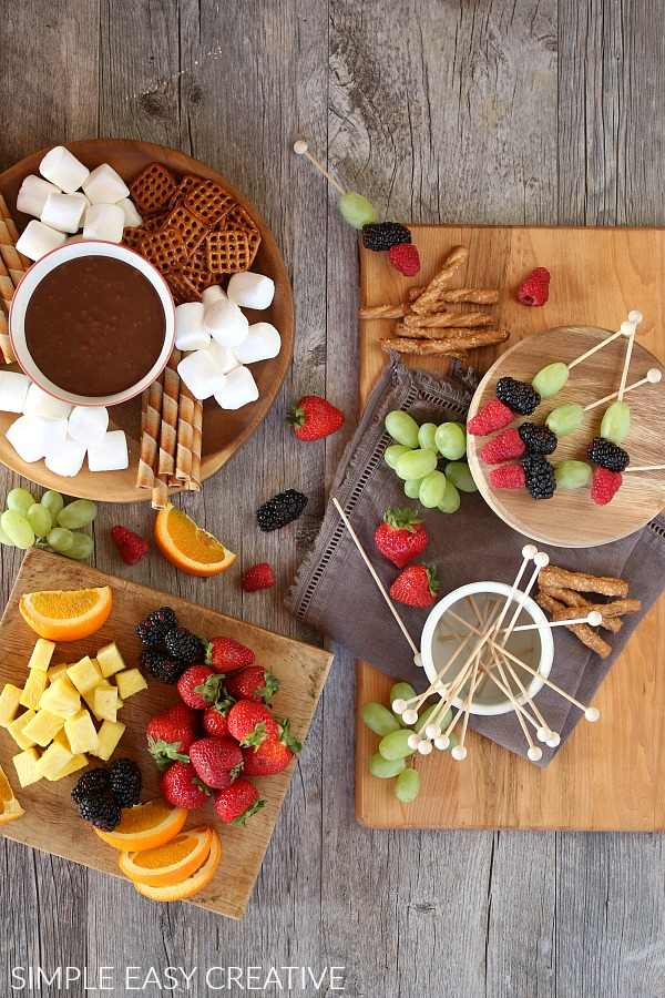 Chocolate Fondue Recipe using 2 ingredients