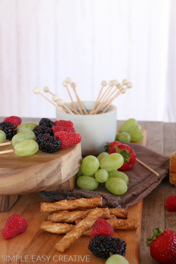 Chocolate Fondue Dippers