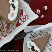 Chocolate Peppermint Pie | Recipe on HoosierHomemade.com