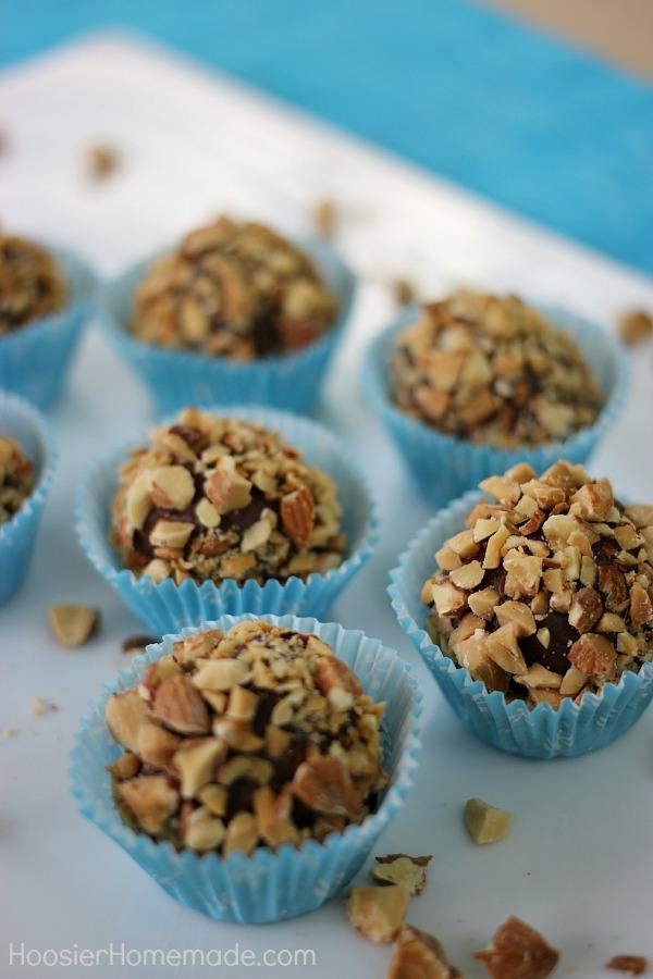 Chocolate Strawberry Truffles | Recipe on HoosierHomemade.com