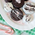 Chocolate covered peppermint oreos homemade 2