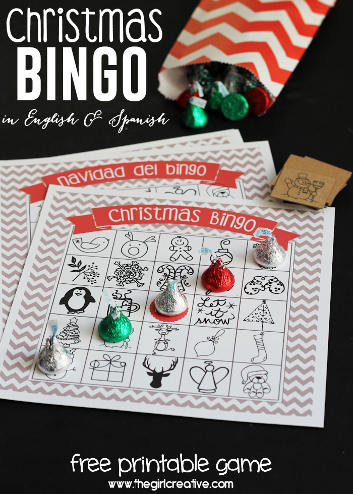 christmas bingo such a fun game for kids and adults alike make it for - Christmas Bingo For Kids