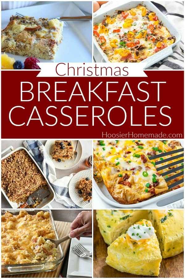 Christmas Breakfast Casseroles