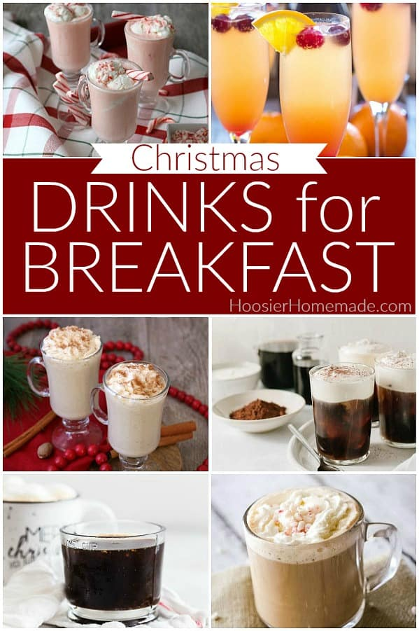 Drinks for Christmas Breakfast