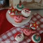 Christmas Cupcakes - December 2012