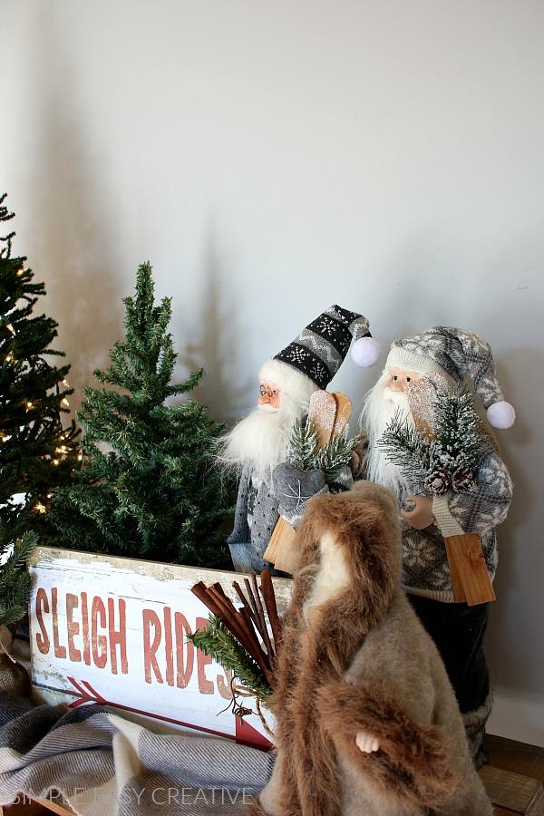 Christmas Foyer Decorations