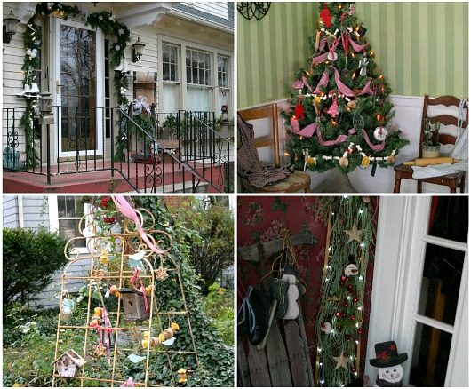 Alfa img showing vintage xmas front porch - Vintage front porch decorating ...