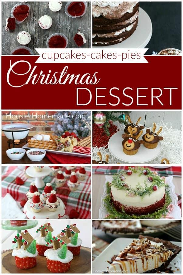 Christmas Dessert Cupcakes Cakes Pies