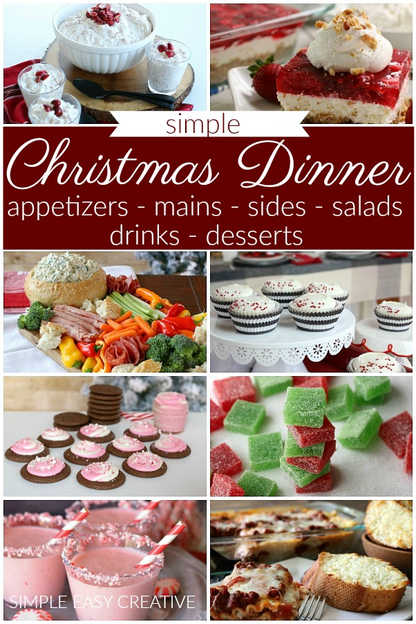 Christmas Dinner Ideas Hoosier Homemade