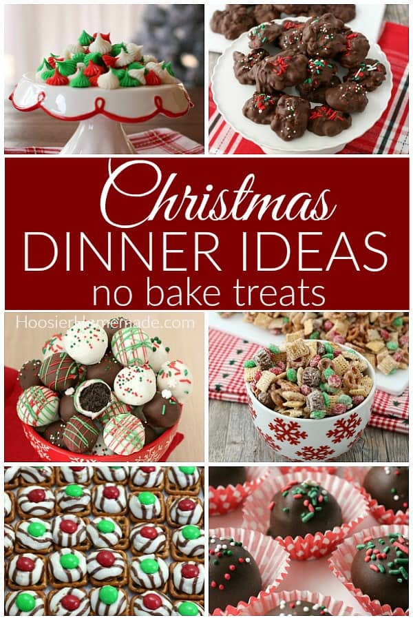 Christmas No Bake Treats