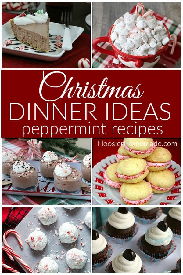 Christmas Dessert Recipes Peppermint