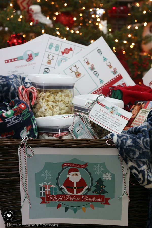 create memories with this meaningful gift basket the night before christmas gift basket will be