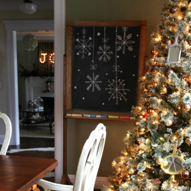 Old Style Christmas Decorations: Vintage Style Christmas Decorations: Homemade Holiday