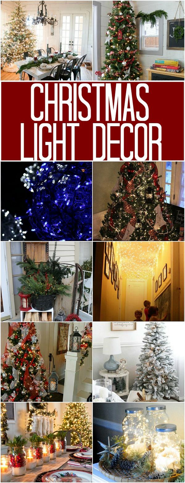 CHRISTMAS LIGHT DECOR | 100 DAYS OF HOMEMADE HOLIDAY INSPIRATION