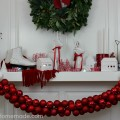 DIY Ornament Garland : 100 Days of Homemade Holiday Inspiration on HoosierHomemade.com