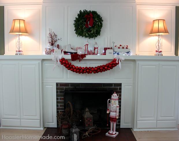 Christmas Mantel: Homemade Holiday Inspiration