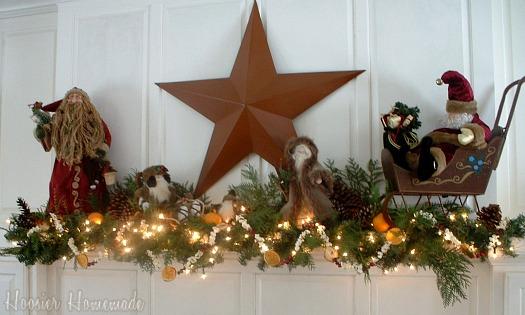 Homemade Country Christmas Craft Ideas