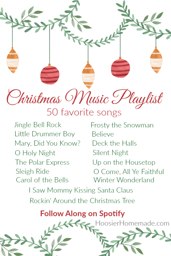Christmas Music Playlist