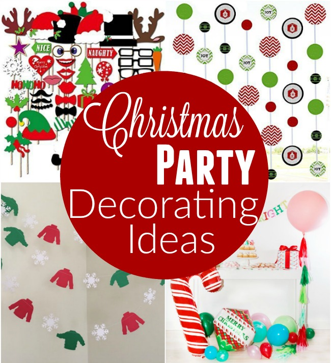 throwing a christmas party these christmas party decorating ideas are sure to bring a smile - Christmas Party Decorations