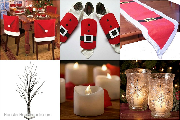 christmas party table decorations - Christmas Party Decorations