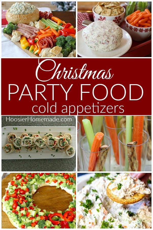 Christmas Party Food Cold Appetizers