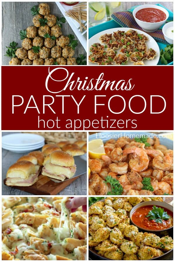Christmas Party Food Hot Appetizers