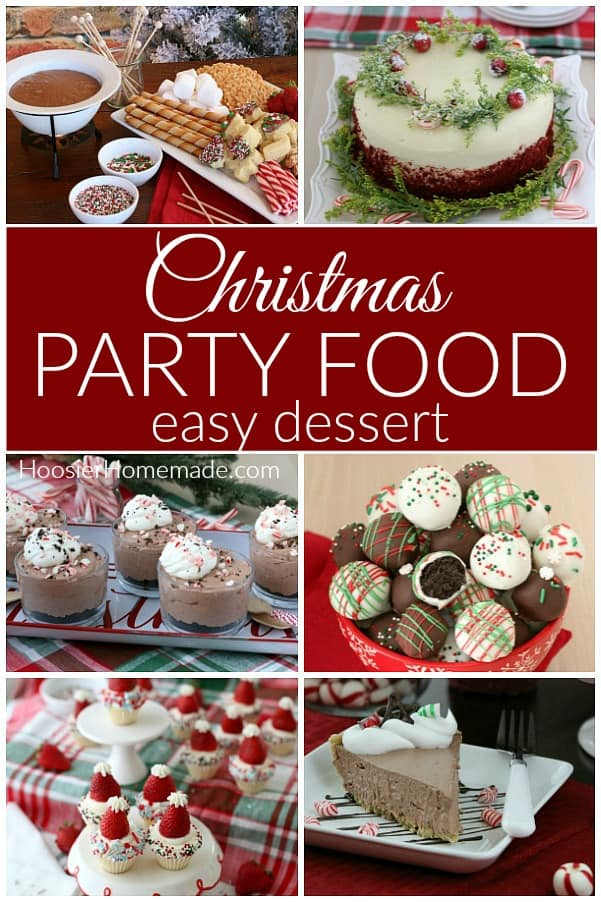 Christmas Party Desserts