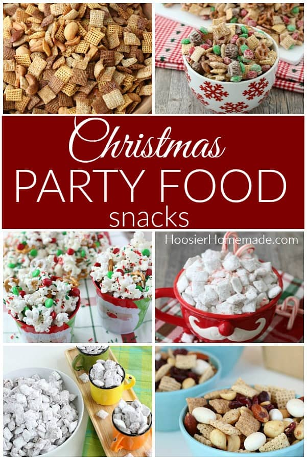 Snacks for Christmas Party