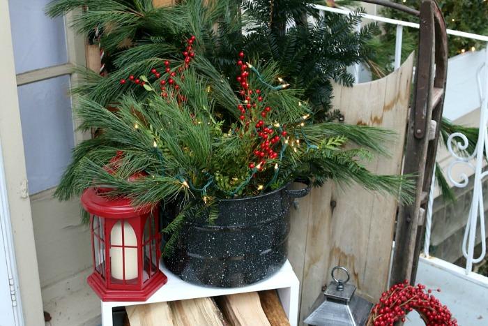 Christmas Porch Decor Hoosier Homemade