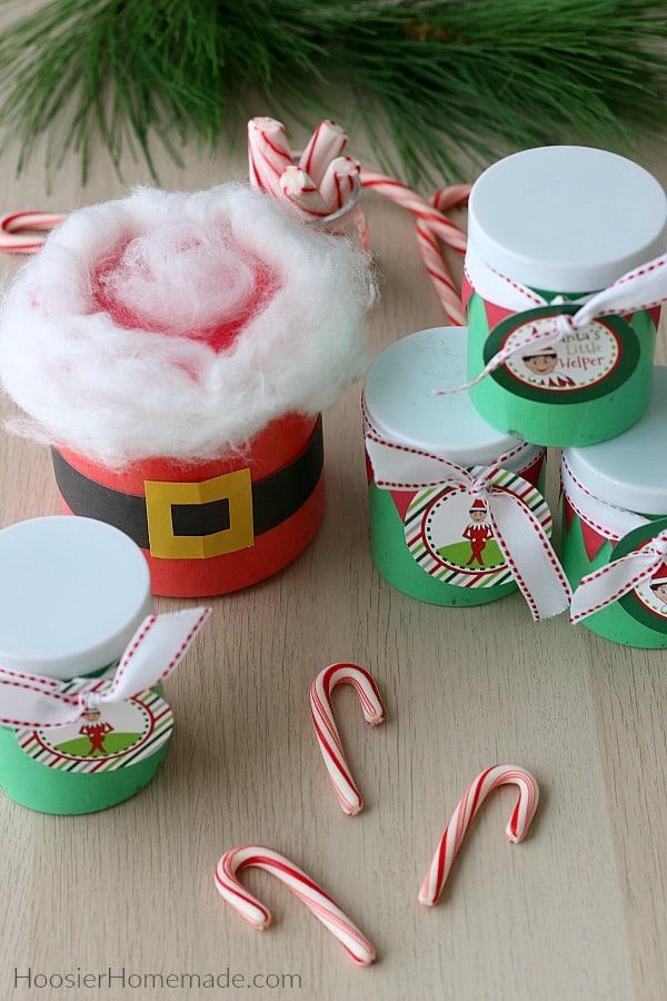 Christmas Slime Santa and Elf