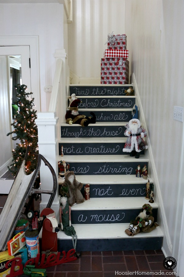 vintage christmas decorating ideas twas the night before christmas when all through the