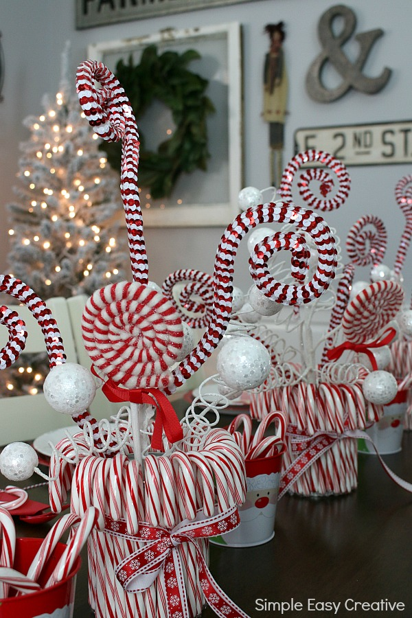 Simple Paper Christmas Decorations