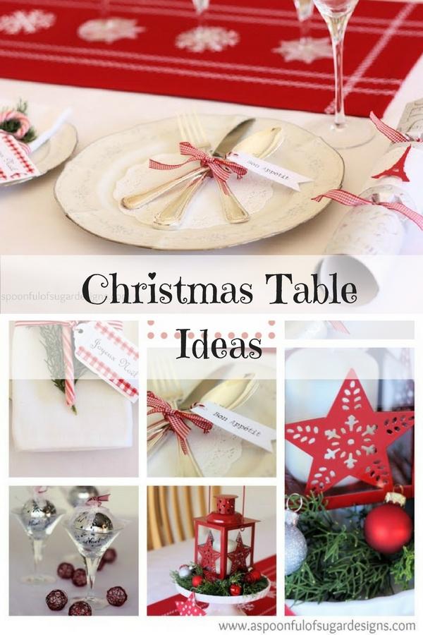 Christmas Table Ideas