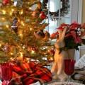 Nature Themed Christmas Table Setting : 100 Days of Homemade Holiday Inspiration on HoosierHomemade.com