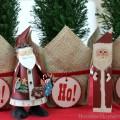 Simple Christmas Tablescape | on HoosierHomemade.com #PFDecorates