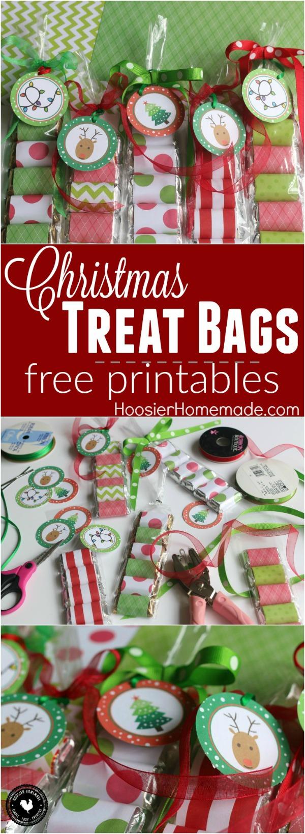 Christmas treat bags hoosier homemade