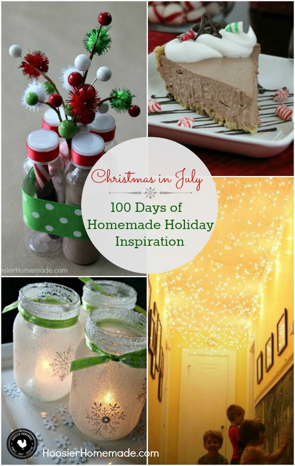 Only 169 Days until Christmas! Start planning NOW for the best Christmas Holiday ever! Homemade Christmas Gifts, Recipes, Crafts and more! Click on the Photo for Christmas Inspiration!